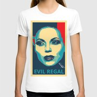 evil queen T-shirts featuring Evil Queen by Pop Atelier