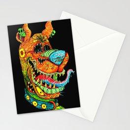 Trippy Dog Stationery Cards
