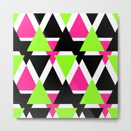 Colorful triangles . No. 2 Metal Print