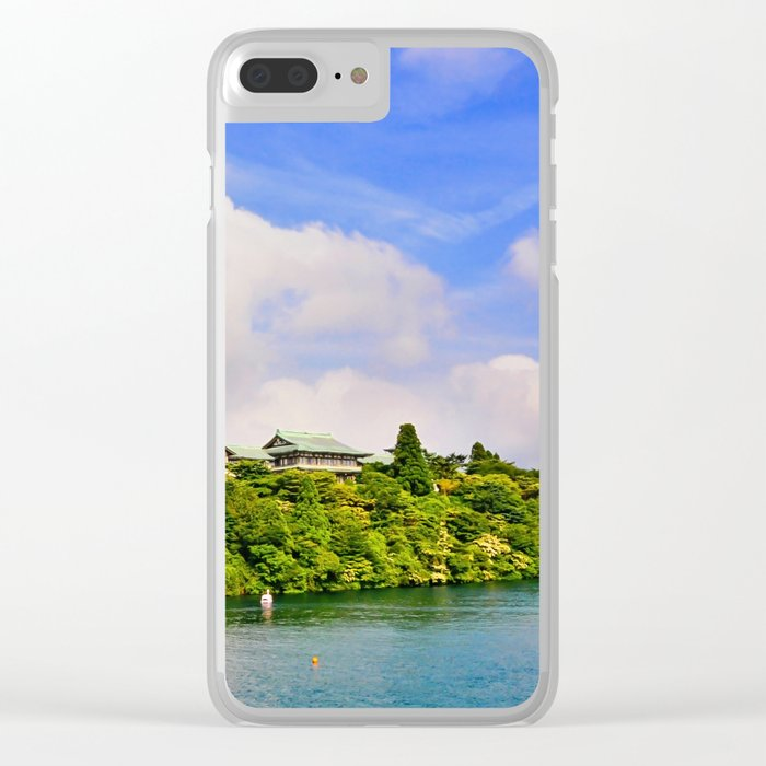 Lake Ashi Clear iPhone Case