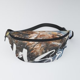 Lion Wild and Free Fanny Pack