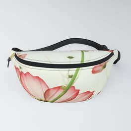 TENDER RED BLOSSOMS Fanny Pack