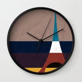 Paris, Eiffel Tower Wall Clock