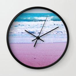 Pastel ocean dreams Wall Clock