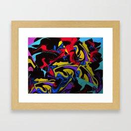 Life's complications Framed Art Print