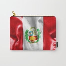 Peru Flag Carry-All Pouch