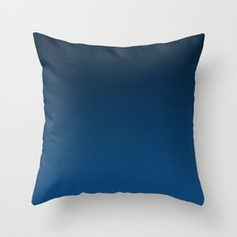 Shades of PANTONE Classic Blue Color Of The Year 2020 Throw Pillow