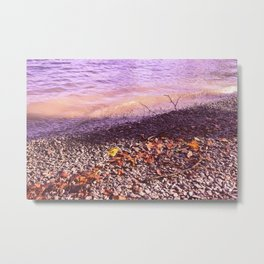 Lake Windermere Shore, The Lake District - Nature Photography Metal Print