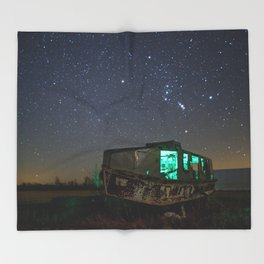 Chasing Orion Throw Blanket