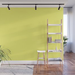 From The Crayon Box – Laser Lemon Yellow - Bright Yellow Solid Color Wall Mural