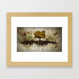 Space in Time  Framed Art Print