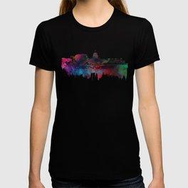 Denver skyline city blue #denver T-shirt