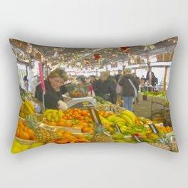 Antibes Cote d´Azur Mediterranee Marche Rectangular Pillow