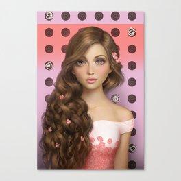 Candy Kiss Canvas Print
