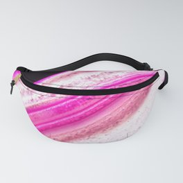 Pink Striations Fanny Pack