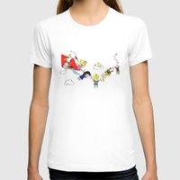 peanuts T-shirts featuring Peanuts Gang by Dada16808