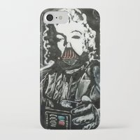 death star iPhone & iPod Cases featuring Death Star by Matt Pecson