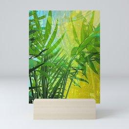 Summer Palm Abstract Mini Art Print