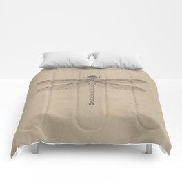 Dragonfly Fossil Dos Comforters