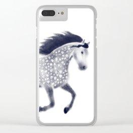 Dapple horse Clear iPhone Case