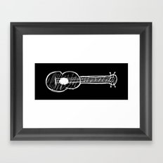 Ukulele Framed Art Print