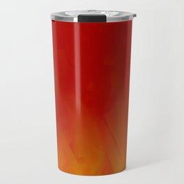 Flames of Gold Travel Mug