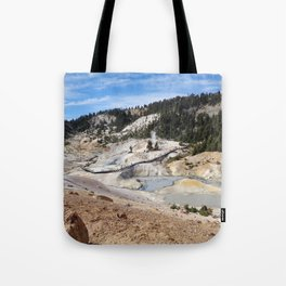 View of Bumpass Hell Tote Bag