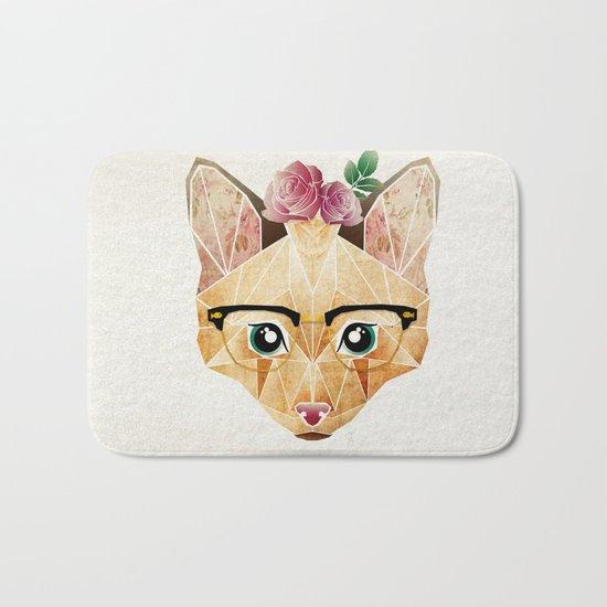miss cat  Bath Mat