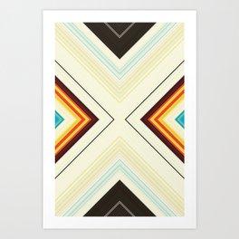 Scratch Harder Art Print