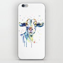 The Happy Goat iPhone Skin