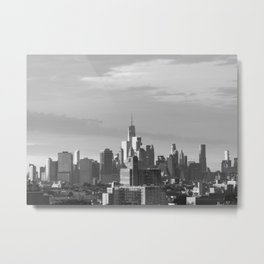 New York Horizon Metal Print