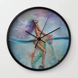 Journey hOMe Wall Clock