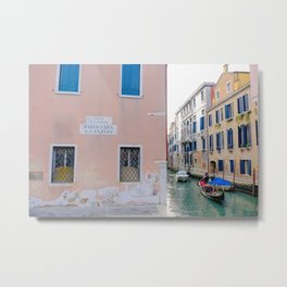 Charming Venice Italy Metal Print