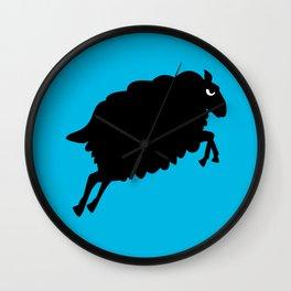 Angry Animals: Sheep Wall Clock