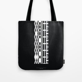 The DNA of colours - White Tote Bag
