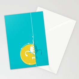 i believe in dinosaurs Stationery Cards
