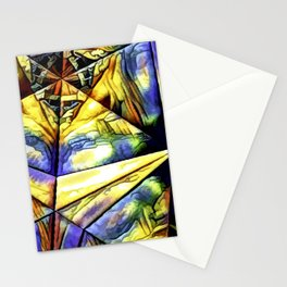 Rainbow Art Abstract Stationery Cards