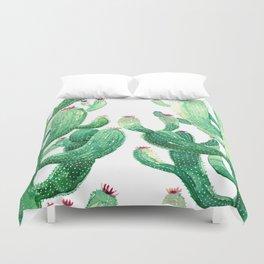 twin cactus Duvet Cover