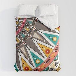 #Ethnic #tribal ornament Comforters