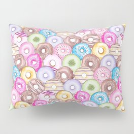 Donut Invasion Pillow Sham