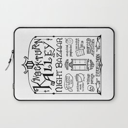 Knockturn Alley Night Bazaar Laptop Sleeve