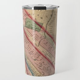 Vintage Map of New Orleans LA (1861) Travel Mug