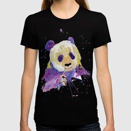 Purple Panda Bear T-shirt