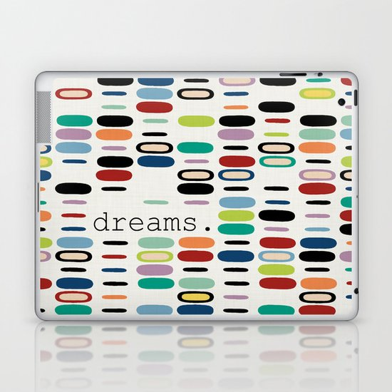 dreams. Laptop & iPad Skin