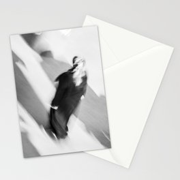 Turkish woman is walking Stationery Cards
