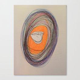 Mouthpiece Canvas Print