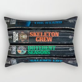 Stephen King Well-Worn Paperbacks Rectangular Pillow
