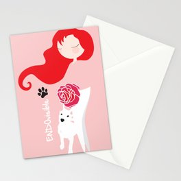 ENDOvisible - Custom Endo Design with Doggie Stationery Cards