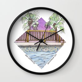 San Clemente Diamond 2017 Wall Clock