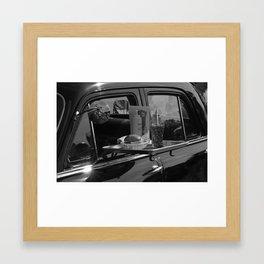 Drive In Time Framed Art Print